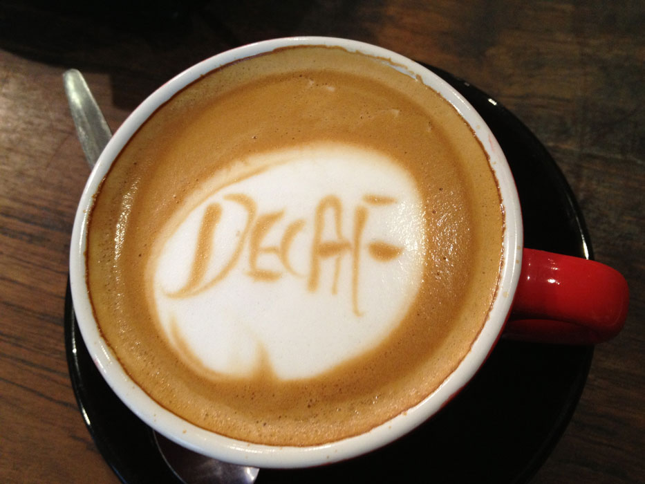 kopi decaf