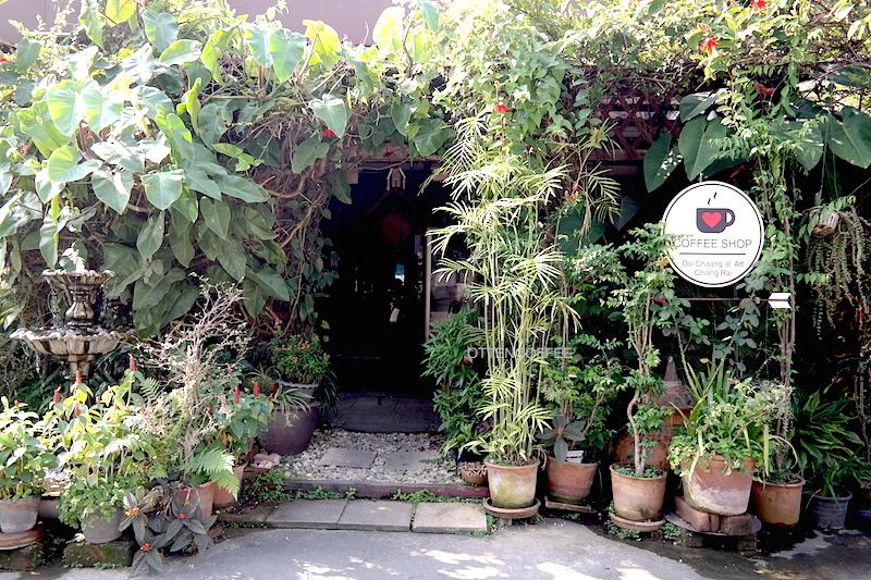 Pintu masuk Doi Chaang Coffee House