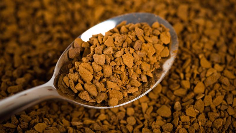 Salah satu tekstur kopi instan yang ada di pasaran