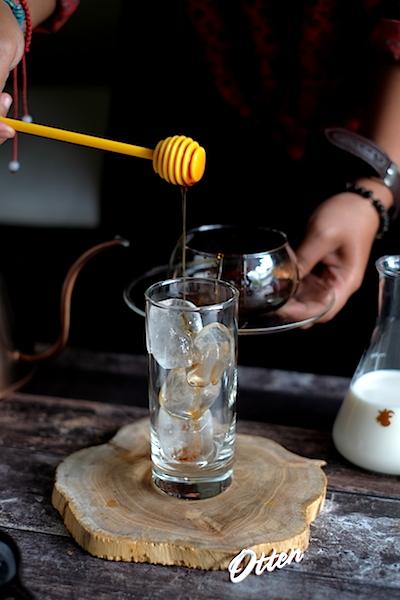 Kalita Iced Coffee with Honey