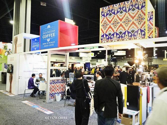 Booth Indonesia di SCAA 2017