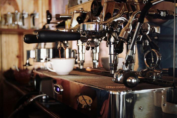 Mesin espresso yang mereka gunakan