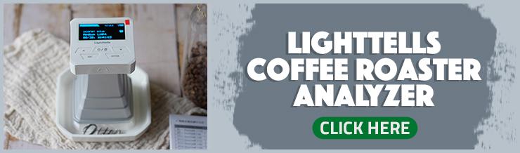 Lighttells coffee roaster analyzer