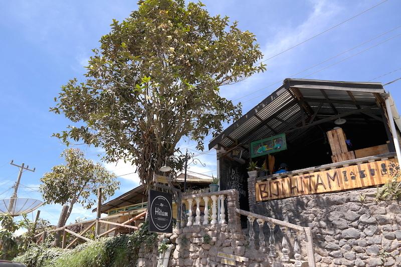 Sebuah kedai kopi cantik di Kota Dingin