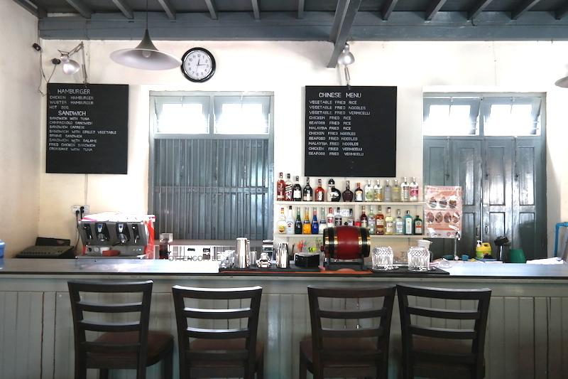The coffee bar!
