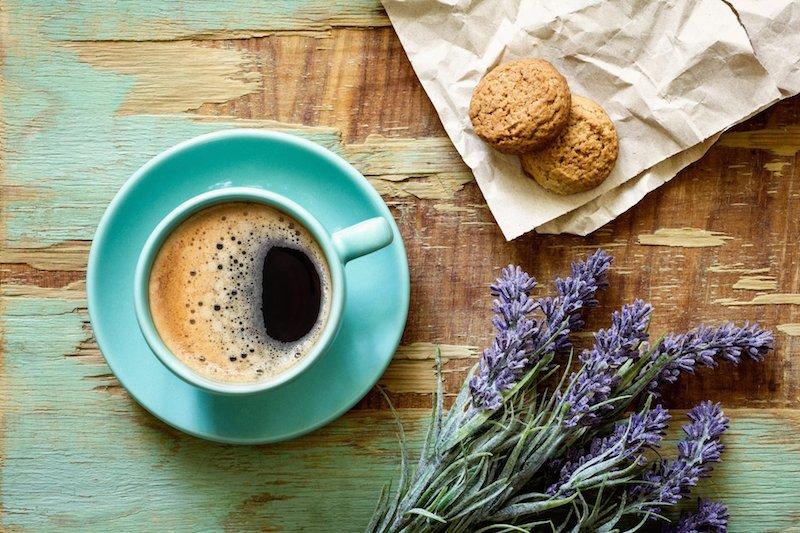 lavender-coffee