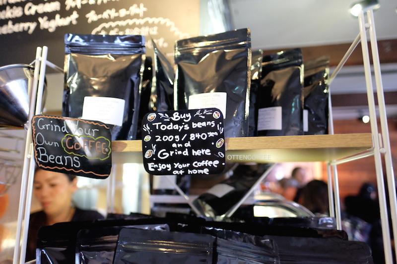 Biji kopi yang siap dibawa pulang