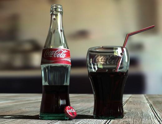 Coca-Cola-Bottle-Widescreen-Background-Wallpapers