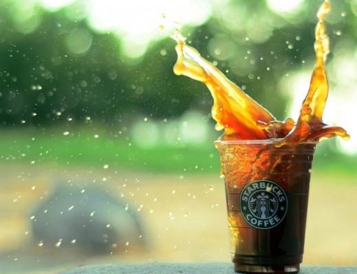 starbucks-coffee-splash-drops-bokeh-hd-wallpaper