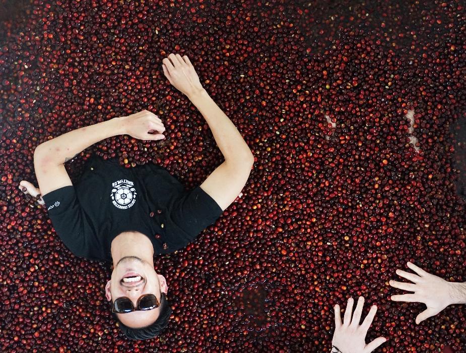 Chad, bersemayam di antara biji-biji kopi luar biasa. Foto: dokumentasi pribadi.